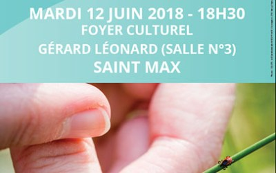 Conférence – 12 juin 2018 – Saint Max