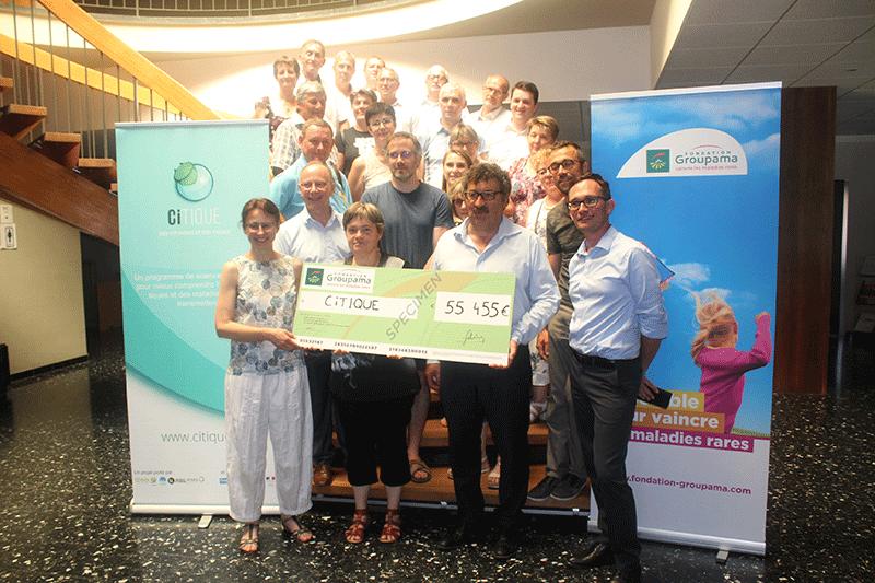 55 000 euros collectés en faveur de CiTIQUE !