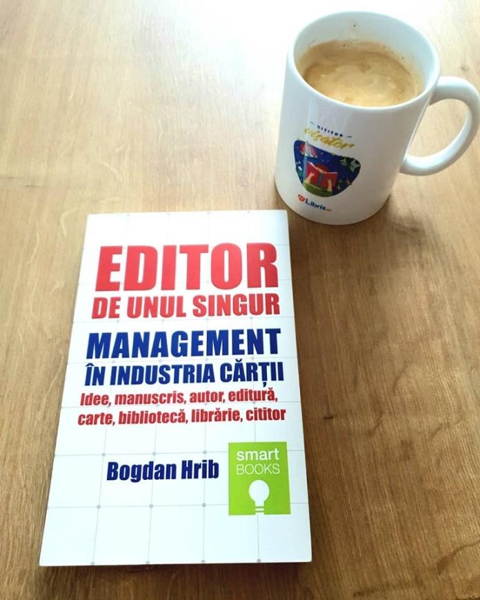 Bogdan Hrib - Editor de unul singur