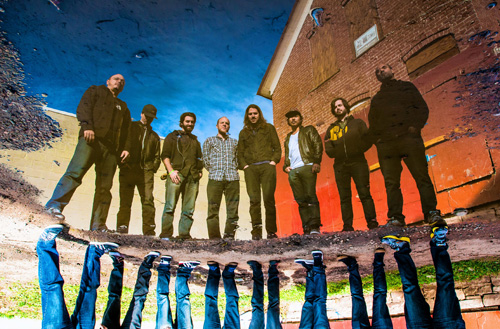 """They're back: John Brown's Body are playing in Brooklyn after a year-long hiatus from Kings County on April 19, only three days after the release of their upcoming album """"Kings and Queens.""""  Photo © Feelin' all right: Reggae act returns to its roots"""