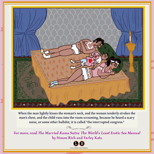 """Loveless life: Simon Rich and Farely Katz's """"The Married Kama Sutra"""" offers positions they say any couple can achieve."""