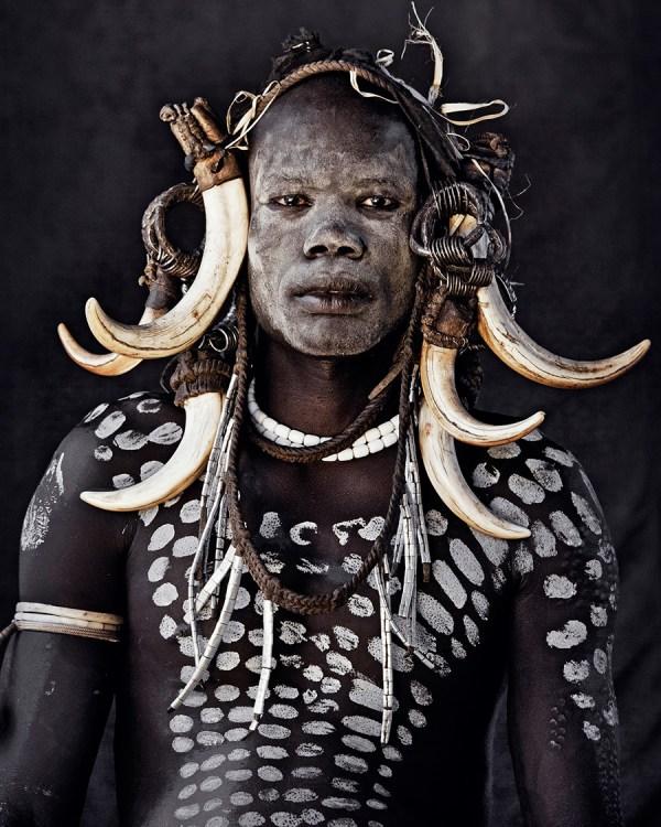 Mursi Tribe, Ethiopia Photo  © Jimmy Nelson BV courtesy teNeues