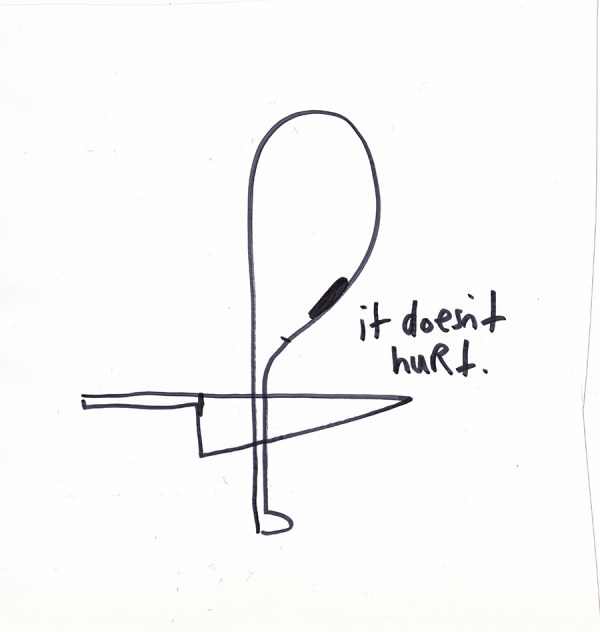 It Doesnt Hurt © Elizabeth Schoettle