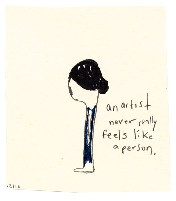 Never Feels Like a Person © Elizabeth Schoettle