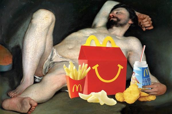 Happy Meal Man ©Eugenia Loli