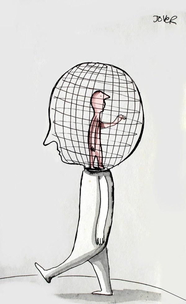 head lock © Loui Jover