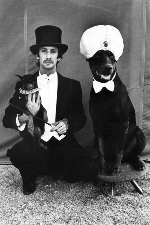 lloyd-and-dogs ©Arlene Gottfried