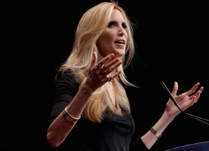 Ann Coulter endorses Democrat over Mitch McConnell…