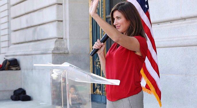 The kick-ass female Republican running vs Pelosi…