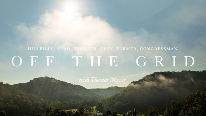 Living off the grid with Congressman Massie…