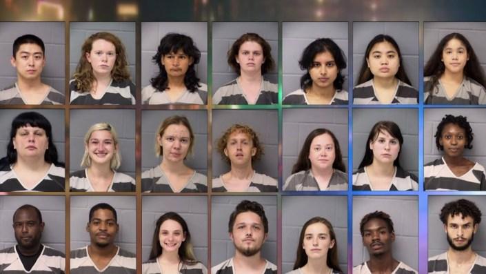 Group Mugshot – 40 Democrats Arrested in Austin