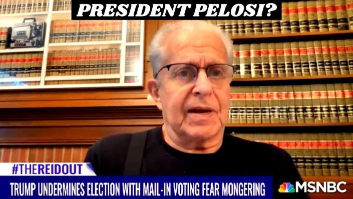 Larry Tribe reveals plot to make Pelosi President…