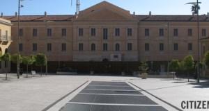 Piazza Fiume a Sassari