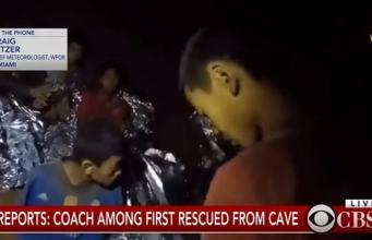 Grotta Thailandia news