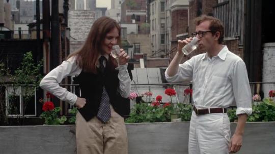 """Diane Keaton et Woody Allen dans """"Annie Hall"""""""