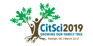 Citizen Science Association 2019 Conference Logo CitSci2019