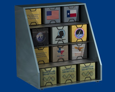 Lynx Cub Payload Carrier (artist's concept) internal view