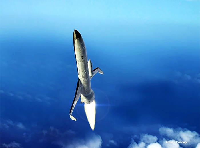 DARPA Experimental SpacePlane-1 (XS-1) launch