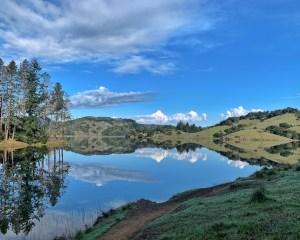 bon tempe lake reflection