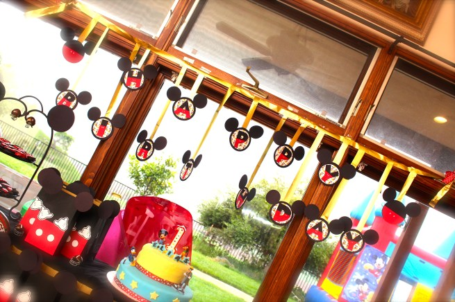 Mickey Mouse Birthday Banner by Citlali Rose