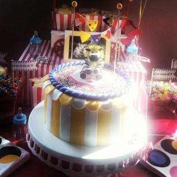 Baby Shower Circus Theme Cake