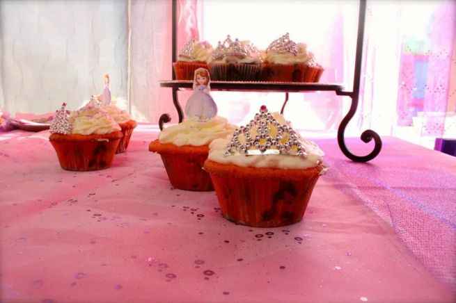 Princess Party Cupcakes | sofia | Citlali Rose