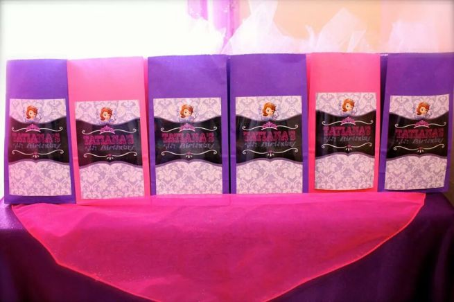 Princess Sofia the First Goody Bags