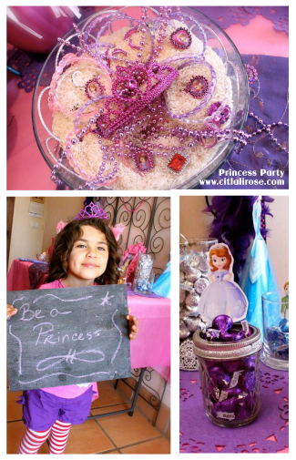 Princess Party Ideas by www.citlalirose.com