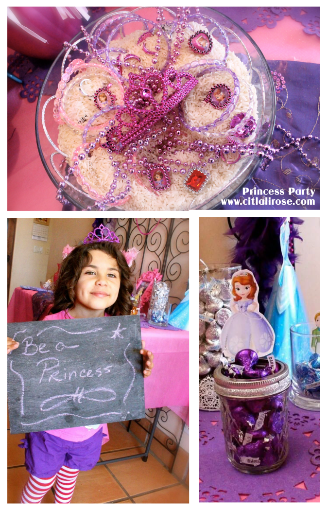 Princess Party Ideas by www.citlalirose.com