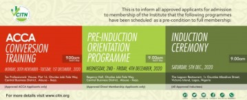 CITN Releases Applicants for 2020 Inductions in Batches