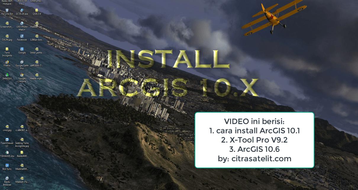 Cara Install ArcGIS 10.X
