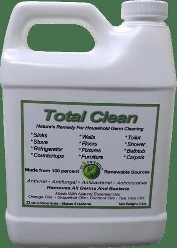 Total Clean 32 Oz Concentrate Units Per Case 6