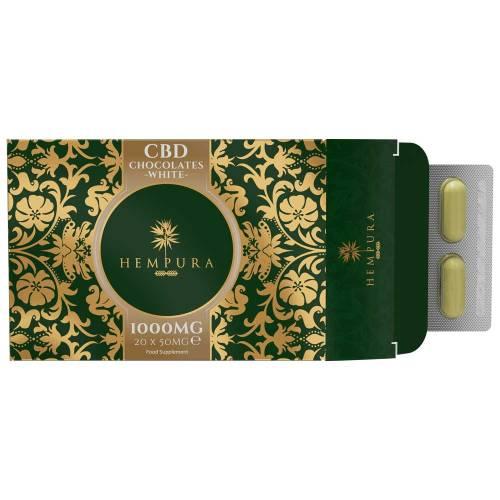 cbd edibles. cbd white chocolate 1000mg cbd