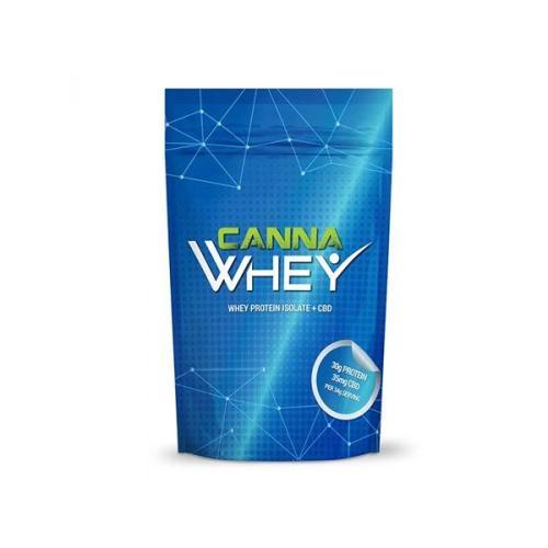 CannaWHEY CBD Whey Protein Drink Strawberry Milkshake 35mg cbd