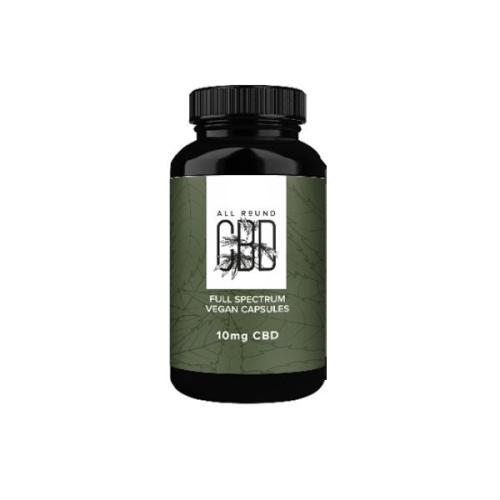 All Round CBD vegan cbd capsules natural 300mg cbd