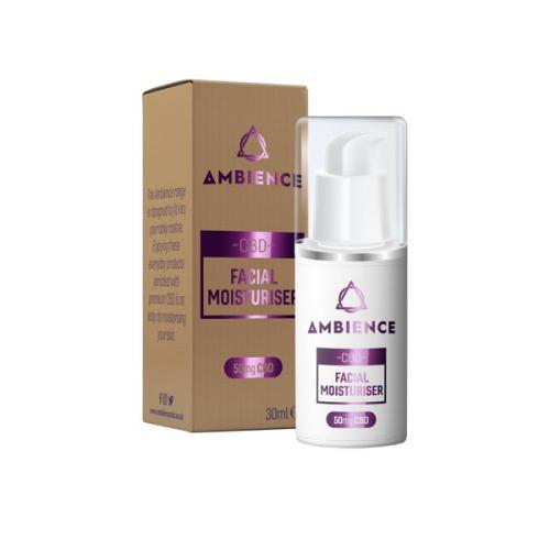 ambience cbd facial moisturiser 50mg cbd