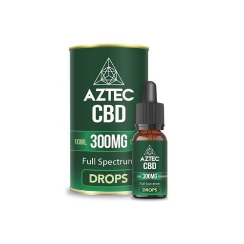 Aztec CBD Full Spectrum 300mg CBD OIL UK