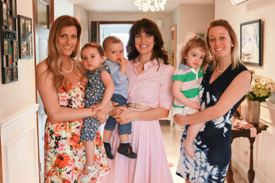 mother's day afternoon tea, moms and their babies