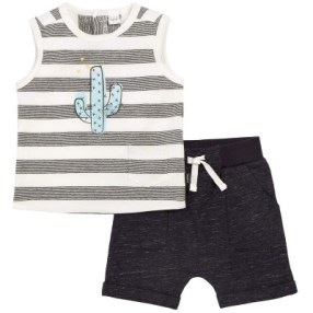 petit lem baby boy summer outfit