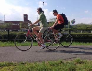 urban bikepath