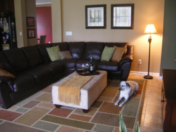 decorating with leather sofa | Centerfieldbar.com