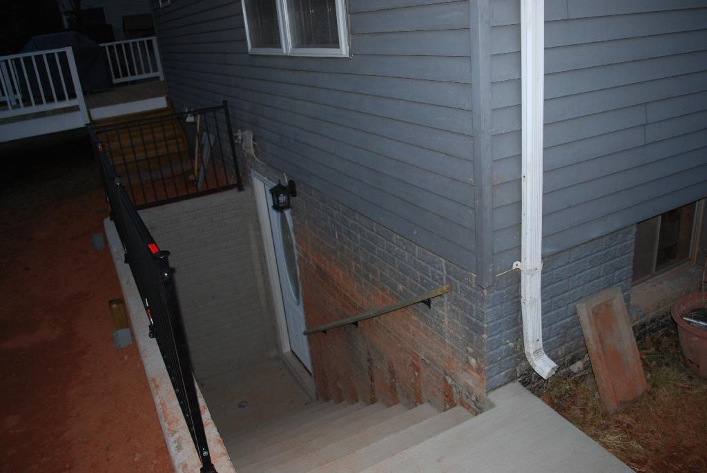 Walkout Basement Before After Floor How Much | Walkout Basement Stair Covers | Door Bilco | Exterior | Cellar | Welled | Walkup