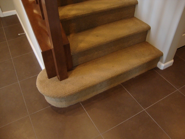 Opinions On Wood Stairs Hardwood Floors Engineered Townhome | Converting Carpeted Stairs To Wood | Stair Tread | Staircase Makeover | Laminate Flooring | Wood Flooring | Risers