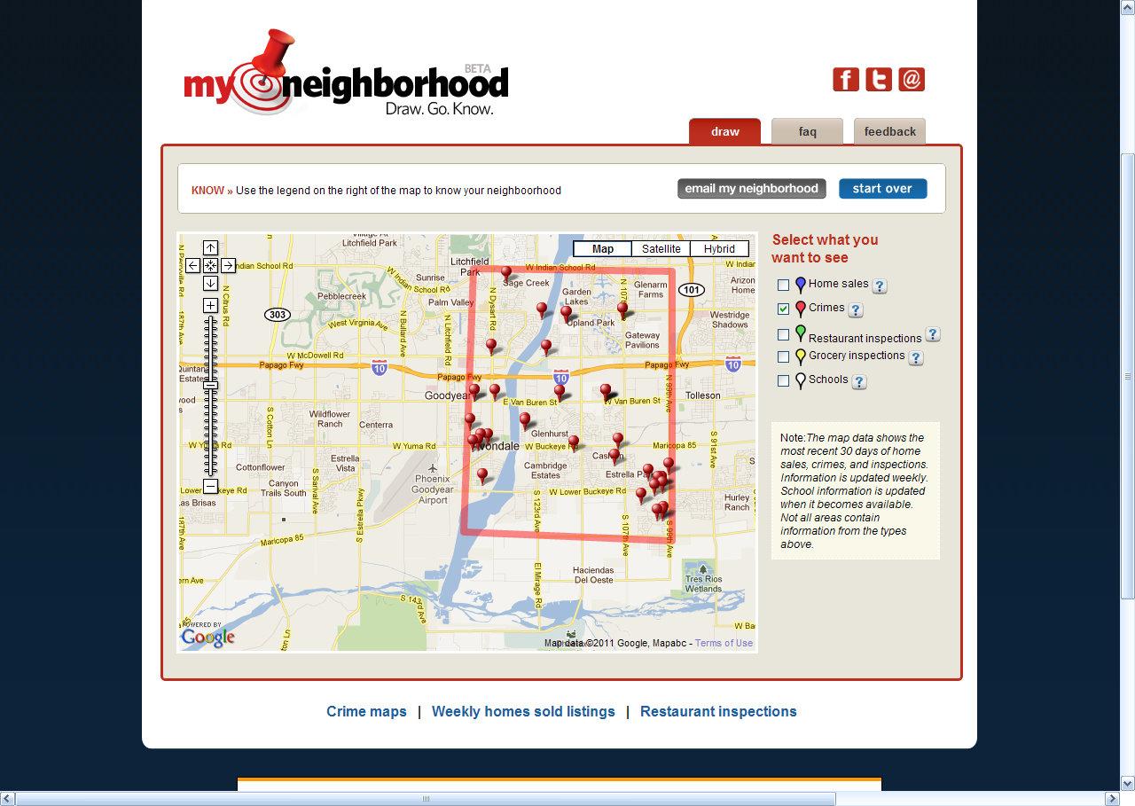 My Neighborhood Online Map