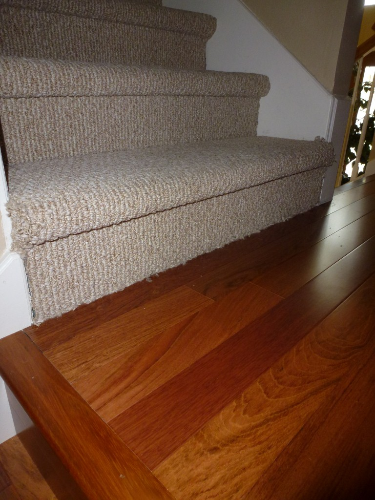 Carpet Stairs To Wood Floor Ideas