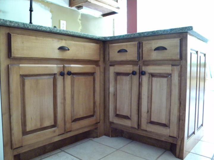 Maple Cabinets Stained With Dark Mahagony Tnmomo S Al Kitchen Remodel Picture City Forum