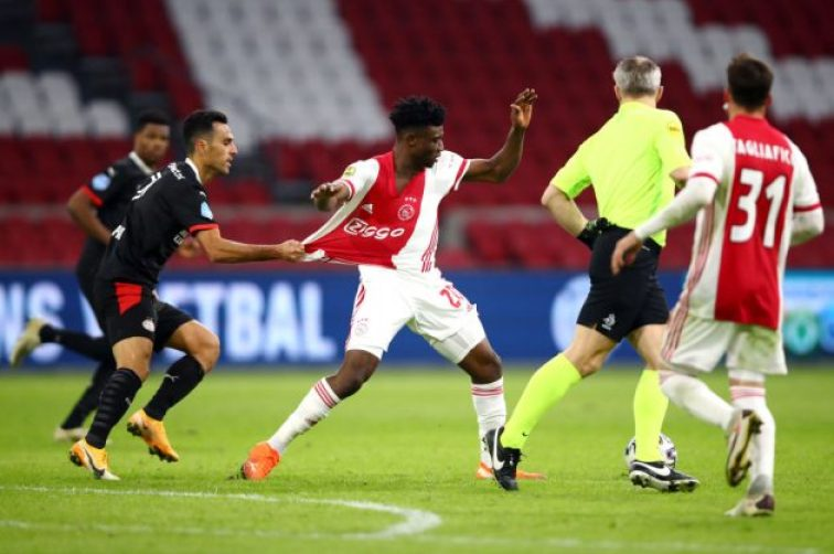 Mohamed Kudus of Ajax is one of the most high-profile success stories to emerge from Right to Dream and Nordsjaelland