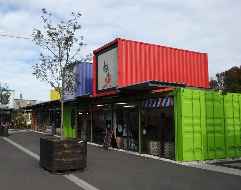 ReStart mall in Christchurch