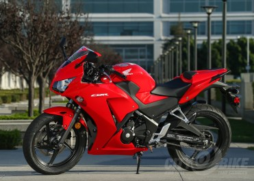 Honda CBR300R first ride. Photo: Kevin Wing.
