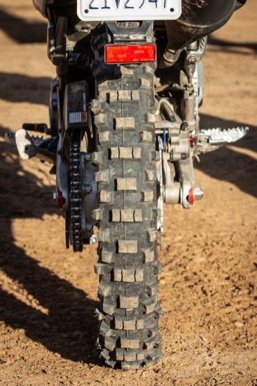 Metzeler 6 Days Extreme rear tire. Photo: Angelica Rubalcaba.